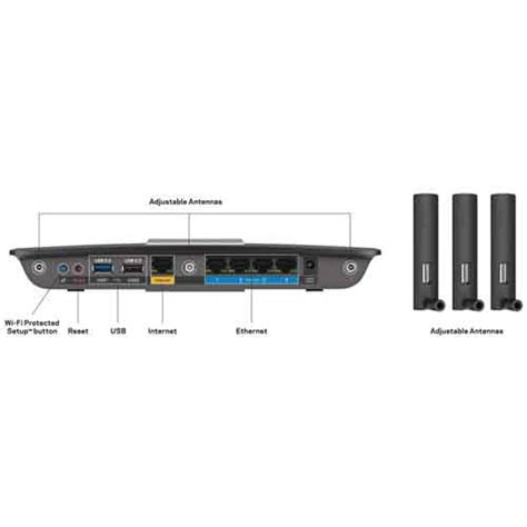 Linksys Ea6900 Ac1900 Smart Wi Fi Dual Band Router Diskon linksys 4a ac1900 dual band smart wi fi router ea6900