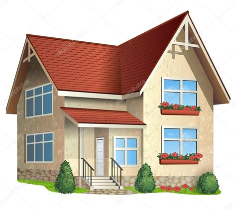picture of house illustration of house stock vector 169 itmuryn 20005641