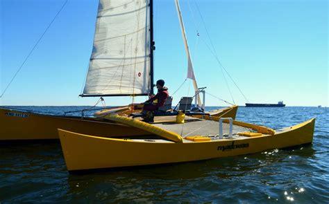 catamaran vs yacht sailing catamaran vs trimaran google search boating