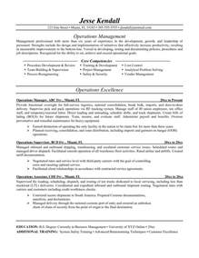 Business Operations Manager Cover Letter by Business Operations Manager Resume