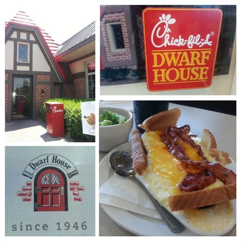 chick fil a dwarf house newnan newnan georgia at the chik fil a dwarf house with their version of the hot brown