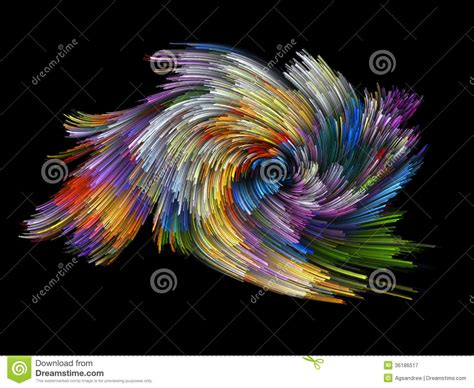 Strands Of Color colorful background royalty free stock photography image