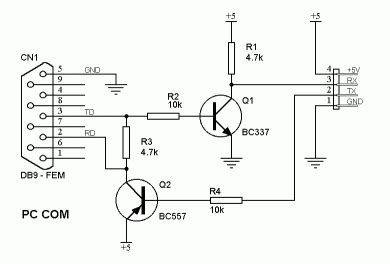 transistor max level alternatives of max232 in low budget projects do it easy with scienceprog