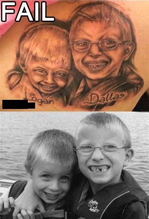 tattoo fail family portrait 10 of the worst portrait tattoos cultured vultures