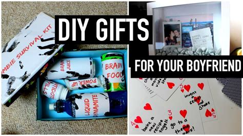 birthday ideas for boyfriend diy