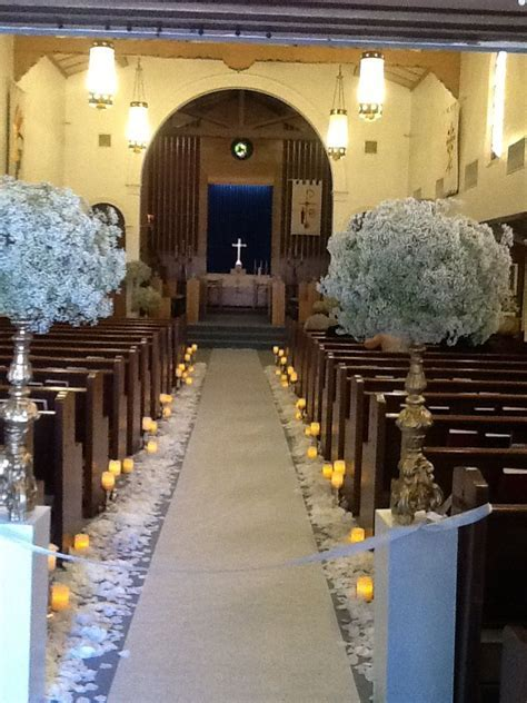 1000  images about W&A's Wedding   Church Flower (entrance