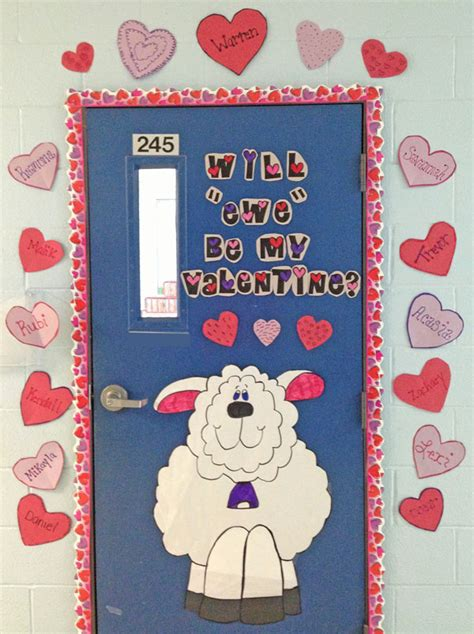 valentines classroom decorations 27 creative classroom door decorations for s day