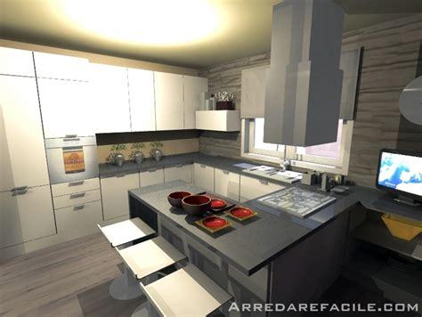 immagini cucine con penisola foto cucina con penisola snack di arredarefacile 109910
