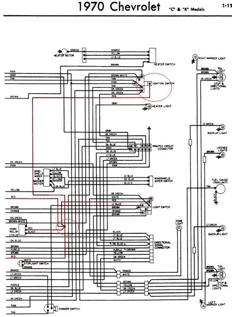 gm wiring diagrams wiring diagram and schematic diagram images my 1970 chevy truck has no power to the fuse box everything is completely dead the alternator