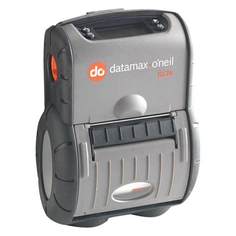 rugged portable printer datamax o neil 174 rl3 dp 50000310 rl3e 2 8 quot rugged portable label printer with dual wi fi bluetooth