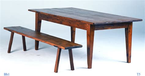harvest table bench 6 dining table farm harvest table from antique pine ebay