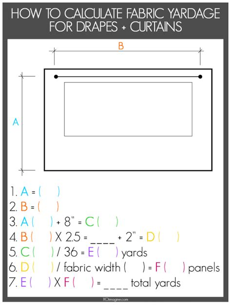 drapery calculator imagine design 187 how to calculate yardage for window