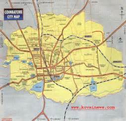 coimbatore india map images
