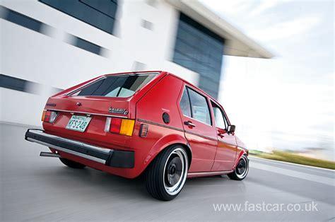 volkswagen fast car us spec mk 1 golf fast car