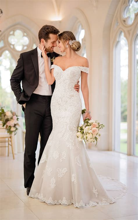Wedding Dress by Glamorous Mermaid Wedding Gown Stella York Wedding Dresses