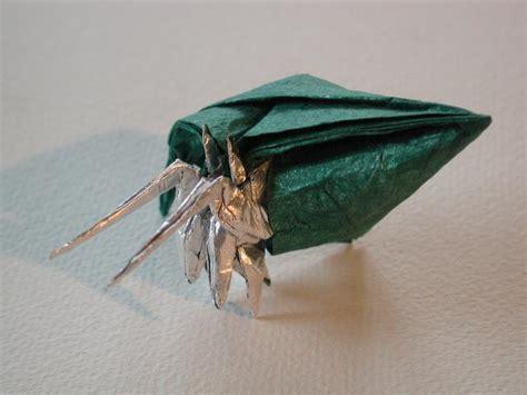 Hermit Crab Origami - robert j lang hermit crab