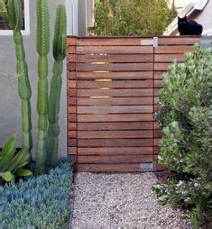 attach  wooden privacy fence   cinder block