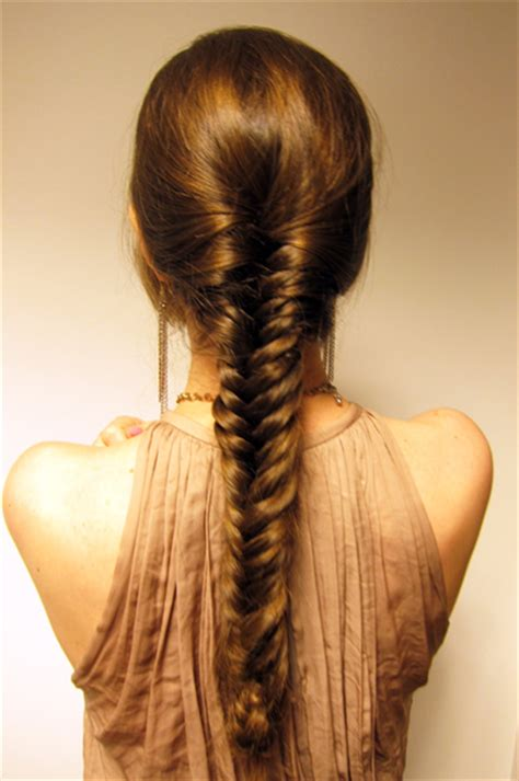 fishbone hair brsids an end off with knots trendy fishtail braid designs you won t miss pretty designs