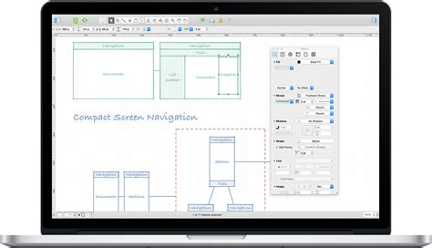 omnigraffle floor plan omnigraffle diagramming and graphic design for mac 2016