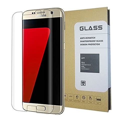 Samsung Galaxy Indoscreen Hikaru Tempered Glass Clear Screen Protector samsung galaxy s7 edge clear screen protector glass protector tempered glass free 1