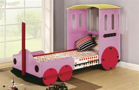 train twin bed asia direct twin bed train design pink 8718 bk