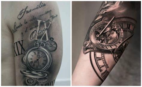 imagenes de tatuajes de relojes antiguos tatuajes de relojes dise 241 os y significados que paran el