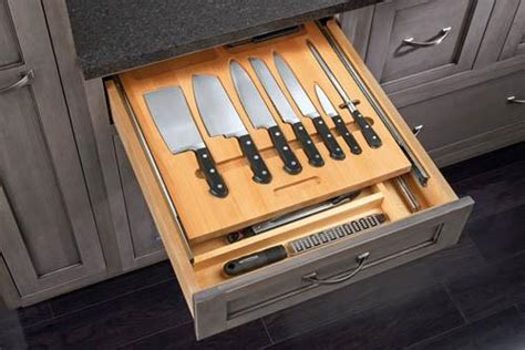 in drawer knife storage canada cut to size insert wood knife organizer for drawers