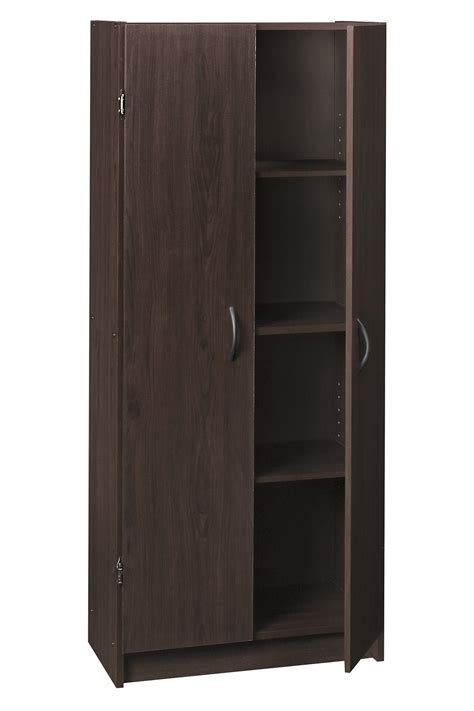 closetmaid cabinet closetmaid 1556 pantry cabinet espresso 1 ebay