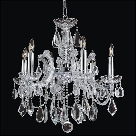 Maria Theresa Smooth Crystal Chandelier Maria Theresa 561a Glow Lighting Chandeliers