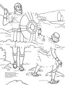 david and goliath coloring page free coloring pages of david and goliath