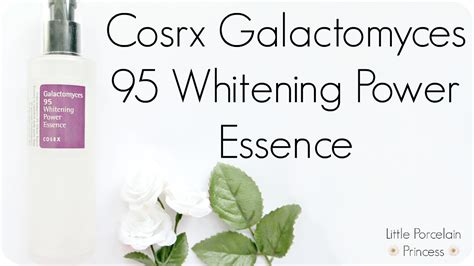 Cosrx Sle Galactomyces 95 Whitening Power Essence porcelain princess fail or holy grail review cosrx galactomyces 95 whitening power essence