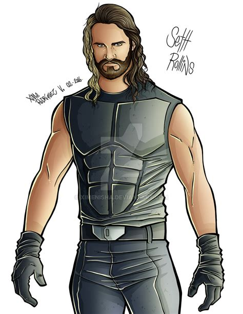 wwe neville coloring page wwe seth rollins drawing pictures to pin on pinterest
