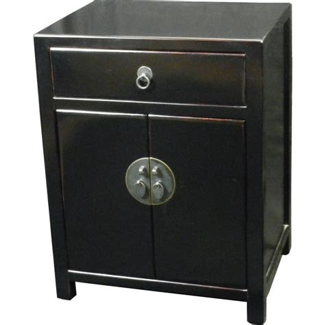 black bedside table ls bedside table