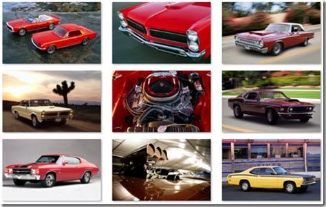 microsoft themes cars download muscle cars theme for windows the blog of rob