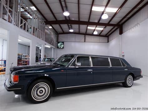 rolls royce factory 1986 rolls royce silver spur factory limousine daniel