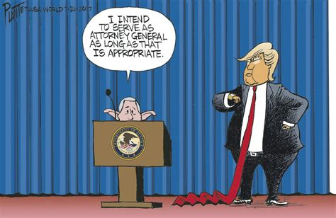 jeff sessions cartoon president bruce plante cartoon sessions and trump cartoons