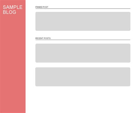 blog layout design mui material design exle blog layout