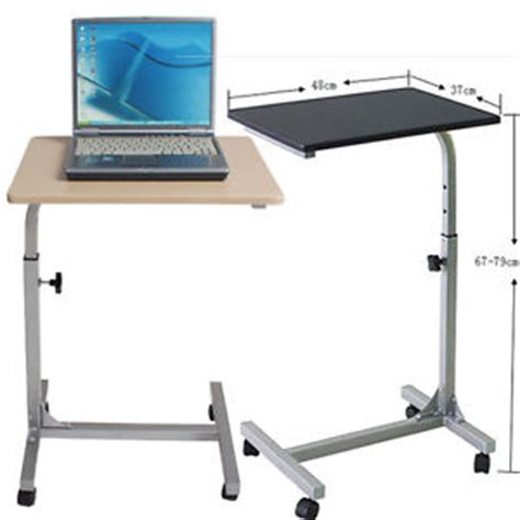 movable study table bed sofa laptop table portable study desk adjustable