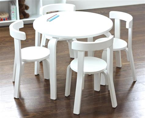 selecting the right childrens table and chairs for