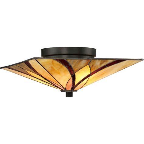 tiffany semi flush ceiling light tfas1615va