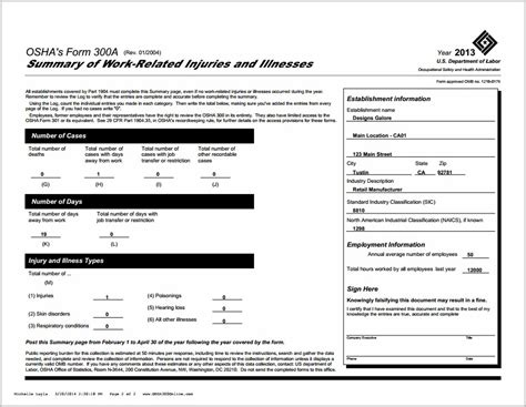Best Online Resume Builder 2014 by Osha 300a Form Example Form Resume Examples Ewljga8pp7