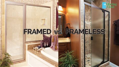 framed glass shower doors framed vs frameless alluring glass