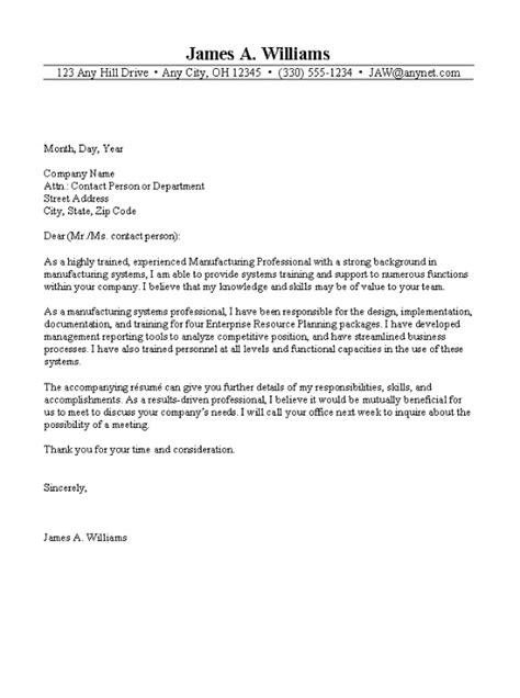 exle of a business cover letter cover letter exles