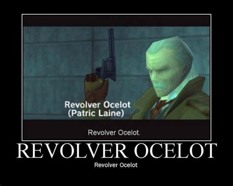 Mgs Meme - revolver ocelot metal gear know your meme