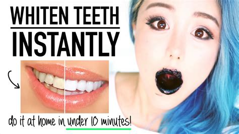 beauty hacks whiten teeth instantly  home