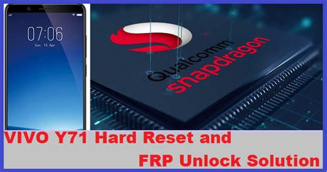 vivo v1 max mobile phone hard reset and remove pattern vivo y71 hard reset and frp unlock solution rbsoft