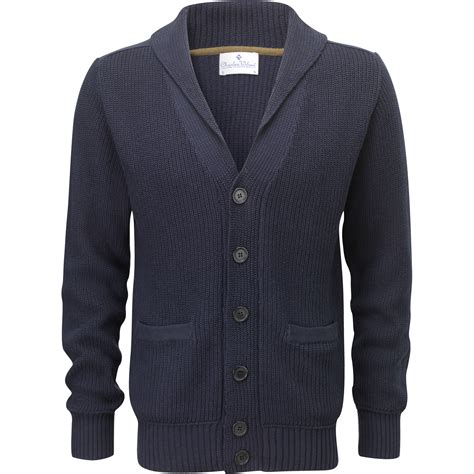 Collar Knitted Sweater charles wilson s shawl collar casual sleeve knitted cardigan new ebay