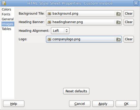 gnucash invoice template invoice template 2017