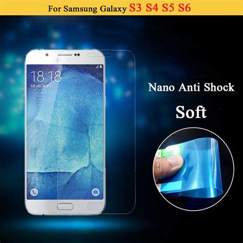 Soft Anti Krek Samsung J7prime Anti Shock screen protective nano anti shock shield ultrastrong soft explosion proof screen protector