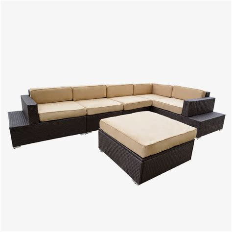 outdoor wicker sectional sofa set big sale discount 50 outdoor patio rattan sofa wicker